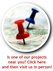 Is one of our projects near you? Click here and check us out in person.