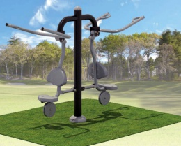 Our Products - We make it easy to enhance your outdoor fitness trail or area, maximizing your space efficiently and attractively.