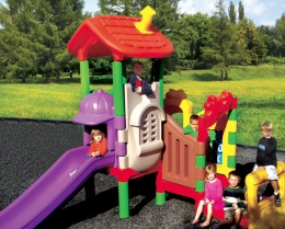 Our Products - We sell playground equipment, swings, slides, climbing nets, child centres, fitness equipment, basketball nets, and more.