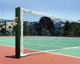 Our Products - We sell basketball backboards, volleyball posts, tetherball, tennis and pickleball posts, soccer goals and nets, football goals, and baseball backstops.